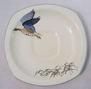 Midwinter 'Wild Geese' 5.75 inch Saucers - 2 available - 1960s